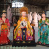 豫莲花邓州佛像厂 无生老母 皇极太极无声老母神像