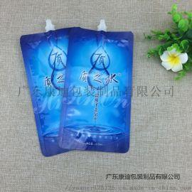袋装弱碱水吸嘴袋定制 定制印刷图案 软包装袋