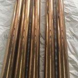 钛金不锈钢圆管,亚光不锈钢钛金管厂家