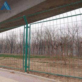 铁丝安全道路护栏/浸塑边框护栏网