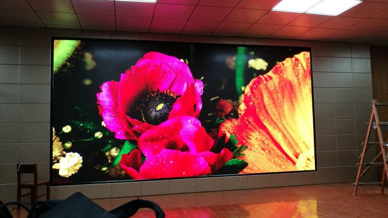 P2.5壁挂电子屏,展厅电子屏P2.5多少钱一平米