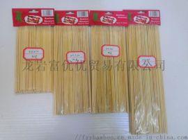 直径3.0竹节片烧烤签 裸签 长度 30cm