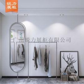 广州韩版极简风格的女装展柜 店装设计