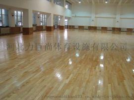 室内篮球馆健身房专用实木运动木地板耐磨耐滑