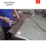 單封邊尼龍直筒卷料 廠家定做直銷 耐高溫玻璃真空膜
