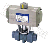 Q611F-10U气动UPVC球阀-电动UPVC球阀
