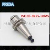 厂家直销批发ISO-MS 无键槽高速刀柄ISO30-E25-60MS