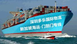 国际海运门到门新加坡海运 海运散货拼箱/整柜新加坡专线货运公司