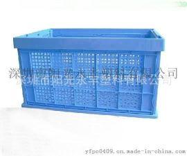 新款欧标折叠天地盖围板箱周转箱PP塑料中空板HDPE周转箱商家主营