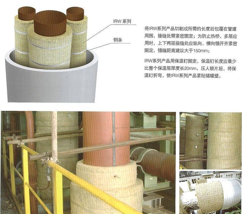 岩棉缝毡,岩棉毡,不锈钢丝网毡