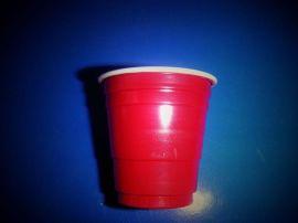 一次性PP/PS55ml、2oz双色塑料杯子