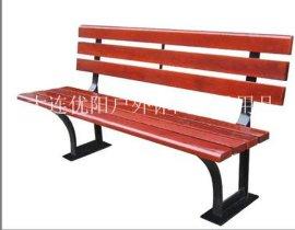 **小区**公园铸铁长椅/木质长椅