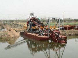 采砂机械DW70斗链子挖沙机