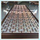 不鏽鋼折屏定製加工廠家 玫瑰金不鏽鋼屏風隔斷 酒店餐廳屏風花格