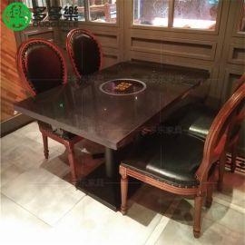 深圳多多乐家具定制桌椅组合电磁炉桌