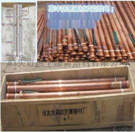 电解离子接地极 铜覆刚接地离子接地体 规格   运输有哪些