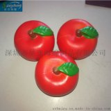 出口日本PU苹果水果海拍摄道具泡棉玩具慢回弹