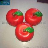 出口日本PU蘋果水果海拍攝道具泡棉玩具慢回彈