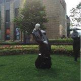 工藝品玻璃鋼烤漆樂隊人物雕像廣場公園裝飾