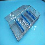 不锈钢消毒盒 器械灭菌盒 内窥镜消毒网篮加工厂家