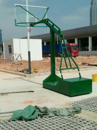 梅林西丽篮球架供应商 XJ-1009凹箱可移动篮球架