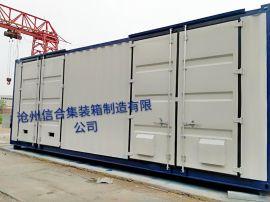 定制全新 特种集装箱 光伏汇流箱 信合厂家供应