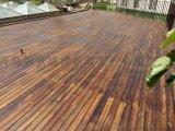黃島開發區柳桉木地板 戶外景觀防腐木棧道