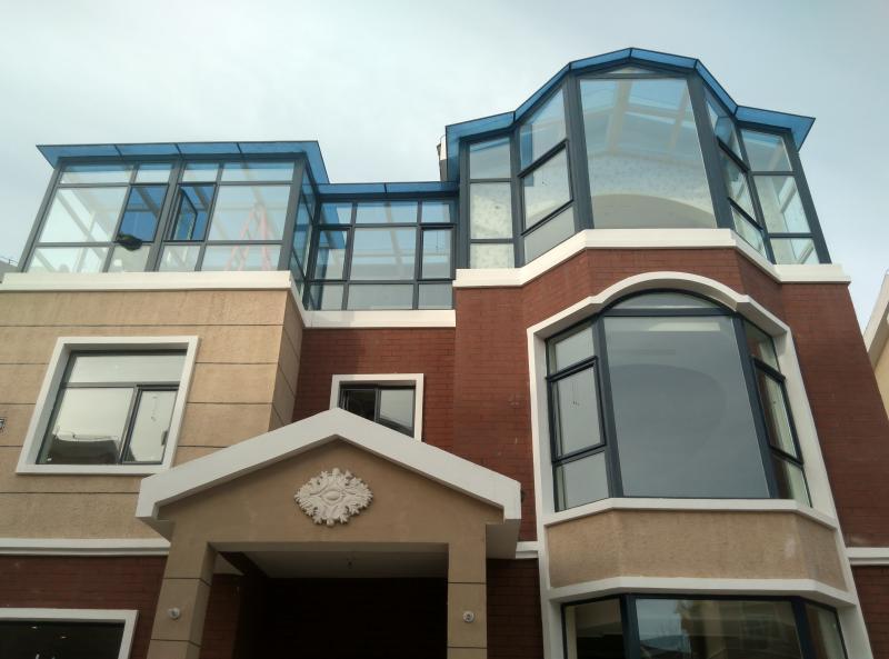 山東華建55系列1.4mm壁厚 北  建斷橋鋁合金門窗