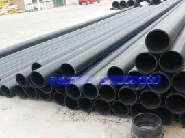 黑色塑料给水管 地埋热熔给水压力管 低密度聚乙烯给水管