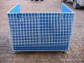 厂家直销仓储笼 折叠仓储笼 金属周转箱 标准仓库笼