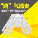 純棉作業接待檢閱表演珠寶盤珠手套汗布品質檢驗用