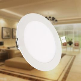 CIKACHI嘉陽led面板燈 圓形吸頂燈貼片平板燈JR05-09節能燈