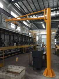 电动葫芦悬臂吊3T单梁定柱式悬臂吊起重机2吨