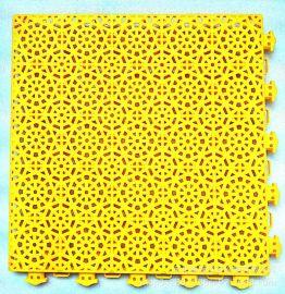 铜仁耐磨篮球场气垫拼装地板贵州弹垫拼装地板厂家