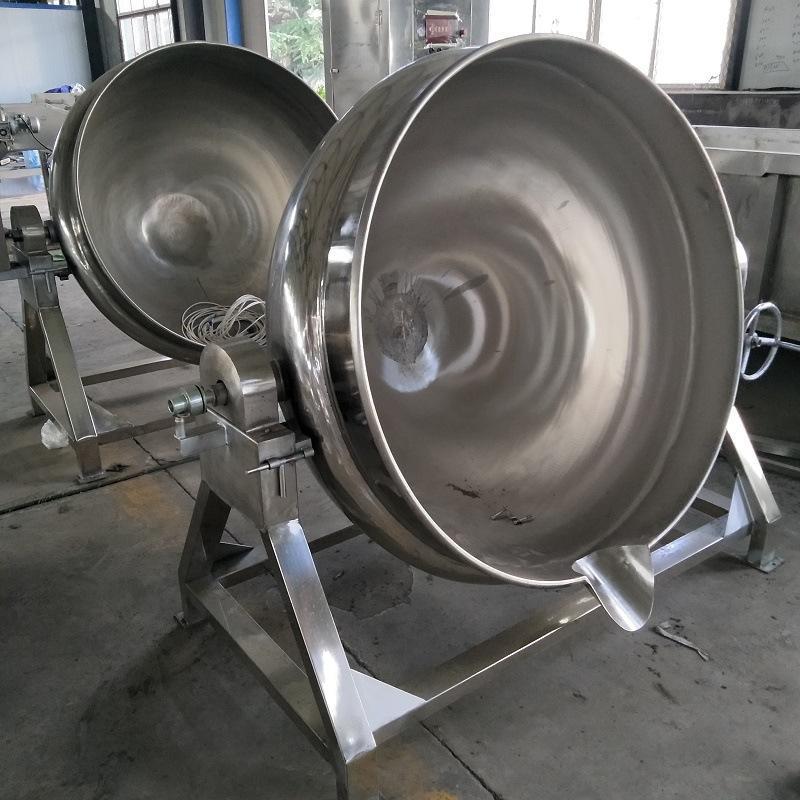 电加热夹层锅蒸汽加热蒸煮锅食品机械炊事设备 可定制