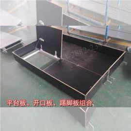 北京苏州铝合金脚手架 建筑配件 室内外移动安全爬梯架 工厂直销