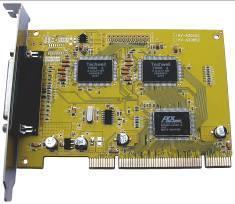 四路视音频采集压缩卡(WH-6804)