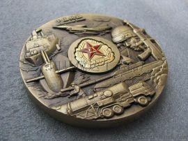 工厂定制徽章中国兵器大铜章立体3D浮雕金属纪念章
