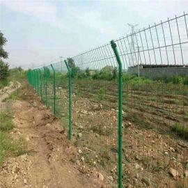 农家院子铁网围栏 护栏网 浸塑围墙铁丝网护栏
