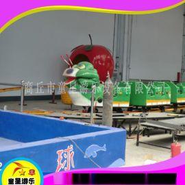 廣場遊樂設備青蟲滑車商丘童星遊樂設備廠家供應
