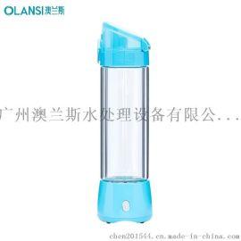 富氢水杯卡通保温杯儿童防漏水壶宝宝带吸管不锈钢便携男女学生可爱水杯