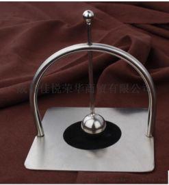 桌子上的压纸器 创意纸巾夹 304不锈钢台式餐巾座