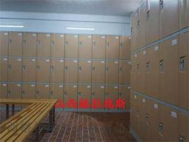 太原学校书包柜 存包柜 塑料彩色拼装储物柜