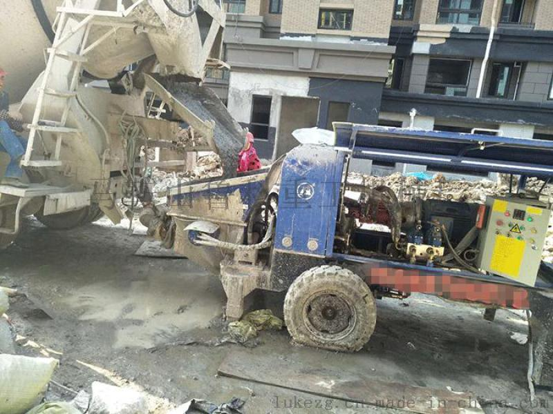 南京细石混凝土泵合作上海建工一建雨花G59地块项目