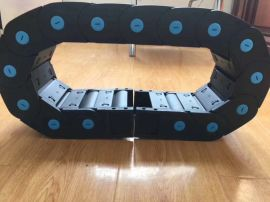 塑料拖链桥式机床用尼龙穿线电缆保护坦克链履带