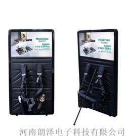 朗泽LED铝合金背包灯箱 背包灯箱图片