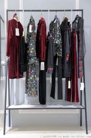 北京黑橋尾貨外貿庫房批發 品牌女裝剪標尾貨