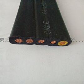JYVFB3*6+1*4抗拉型扁电缆