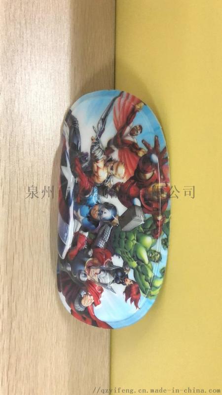 贺州儿童卡通箱包笔袋花片价格 eva3D书包片厂家