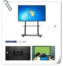 捷安迅60寸壁掛式多媒體教學一體機;智慧電子白板